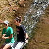 Cooling-off at the waterfall