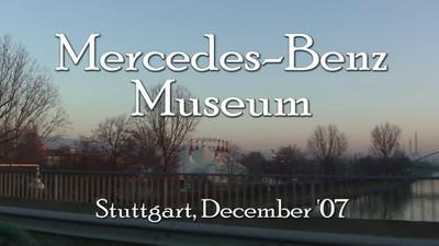 Stuttgart - Mercedes Museum