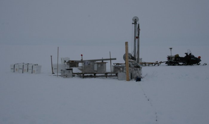 The drill at the second drill site