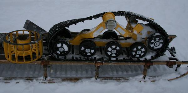 The broken belt, that Sverrir fixed