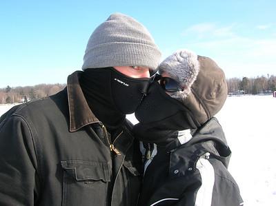 2007.02.09-11 Ice Fishing on Farm Island Lake