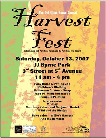 The 2007 Harvest Festival JJ Byrne Park