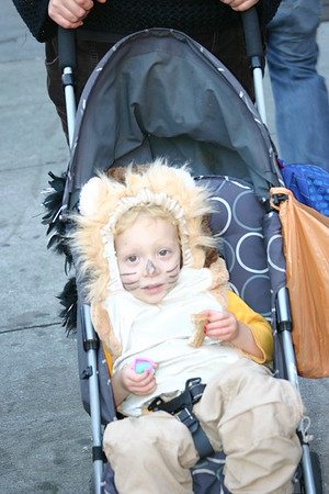 Trick or Treating in the Nabe (South Slope)