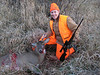 Opening morning. Jason\'s first deer of the season. Shot at about 8:30 am. 8 point buck.