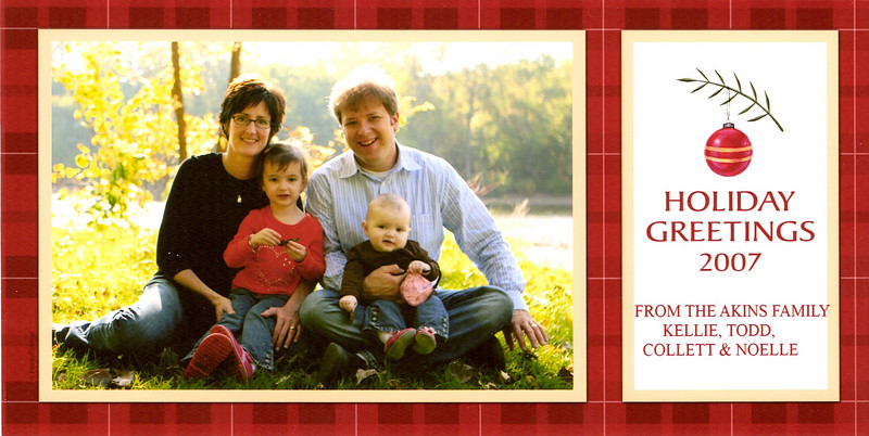 Kellie, Todd, Collett, & Noelle Akins.