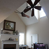 Whoo Hoo! The fan is finally installed!