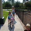 Bike ride to the Pirate Ship Park!
