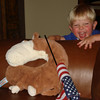 Monkey wished you a Happy 4th of July.  Crazy face games.