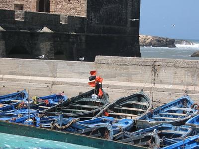 Boats in Morocco - Kim Collins