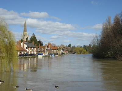 Abingdon between Oxford and Rutherford Appleton Laboratory: 2007