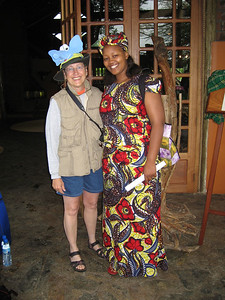 Lois w Zubeta, our Unique hostess