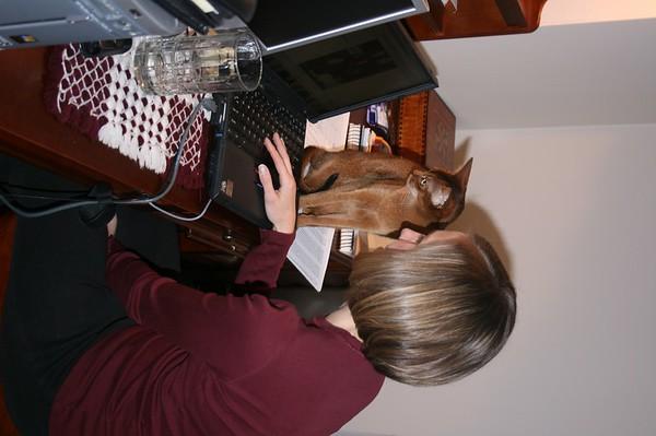Anna meets Annie - March 4, 2007