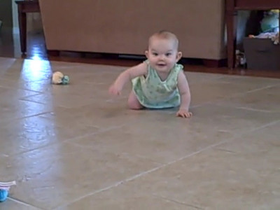 September 8, 2008 - Learning to crawl