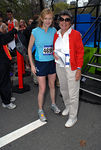 Mary Wittenberg, CEO, New York Road Runners & Sheila Labrecque