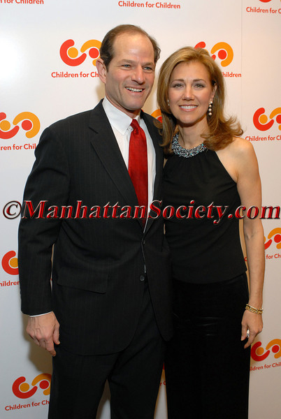 New York Governor Eliot Spitzer and New York's First Lady and CFC Founder, Silda Wall