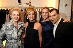 Carolina Herrera, Yaz Hernandez, Christine Cachot & Gustavo Arango MUSEO'S Pre Gala Mask Unveiling hosted by Carolina Herrera at her Madison Avenue store.