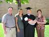 Dad, Renee, Garrett (with Scott), and Mom.