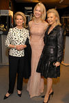 "Sydney Shuman, Joanne de Guardiola & Audrey Gruss at the the Seventh Regiment Armory on Park Avenue for ""The Time Of Your Life,"" A Gala Preview of The Spring International Art & Antiques Show to Benefit Lenox Hill Neighborhood House Sponsored by Rolex Watch U.S.A., Inc"