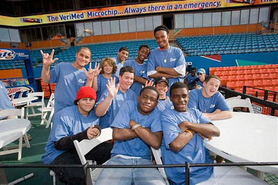 Boardroom Communications, Inc presents 9th Annual Dollars and Strikes Night at the Florida Marlins vs. Minnesota Twins for the Boys and Girls Clubs of Broward County