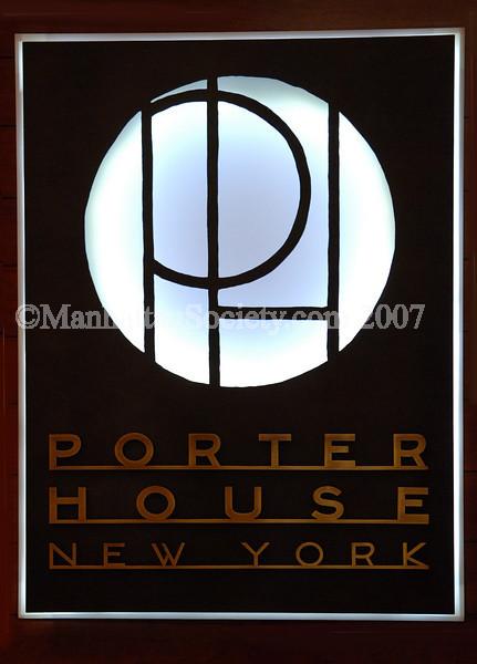 STEAK & THE CITY: PORTERHOUSE New York