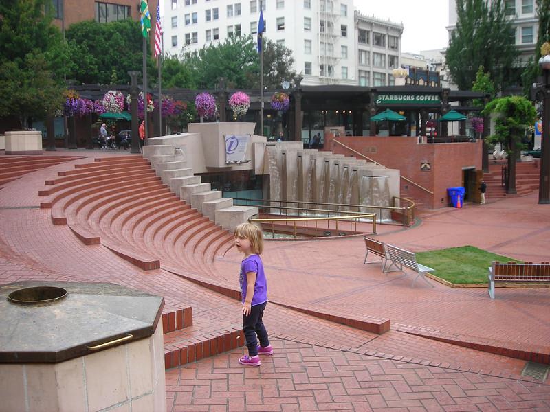 Downtown Portland.