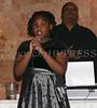 Imani David sings the Star Spangled Banner