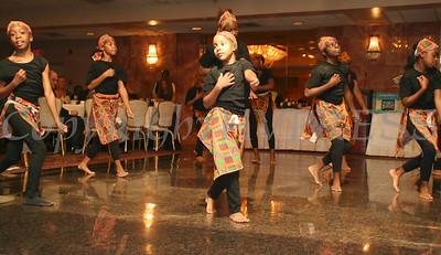 Glenn Hines African Dancers