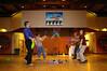 Jugglers at Grant & Paula's rehearsal dinner