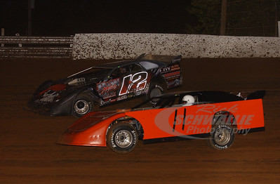 11 Bobby Wolter Jr. and 12 Jordan Bland