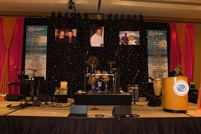2007 Boys and Girls Clubs of Broward County 40th Annual Dinner Auction at the Seminole Hard Rock Hotel & Casino with a tribute to David and Kay Hughes.  Entertainment by the Evolution Band.