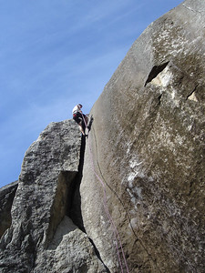Rapping down Unconquerable, 5.8.