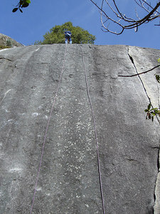 The Goat rapping down Dinkum Wall.