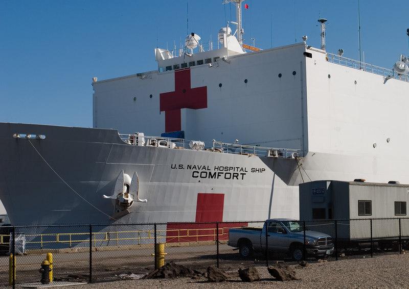 "Hospital Ship ""Comfort"""