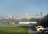 A view of San Francisco beyond Crissy FIeld.