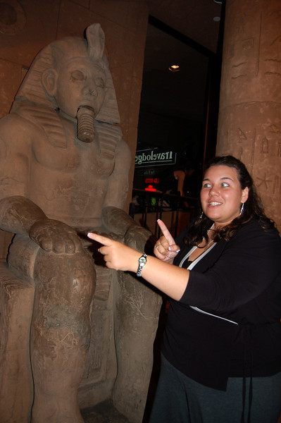 Stacey and the Egyptian Statue