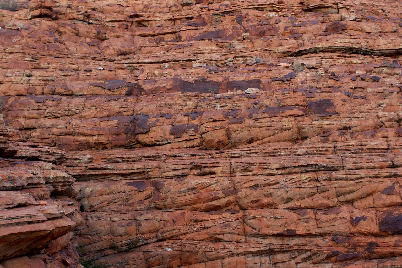 King's Canyon Rock • King's Canyon in the Northern Territory is formed from two types of sandstone.