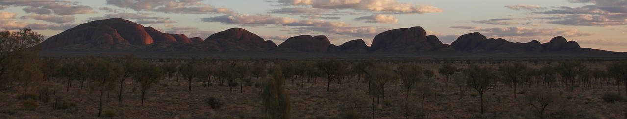 The Olgas at Sunrise