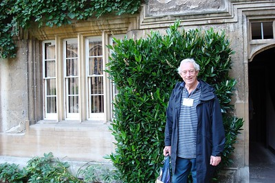7 - John Fleming Outside of his Dorm Room in Jesus College, Oxford - Liz Greenberg