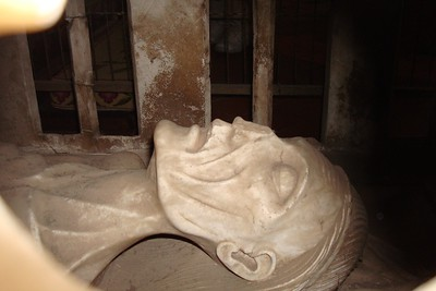 5 - Memento Mori of Alice Chaucer (Geoffrey's Granddaughter) in Ewelme Church - Liz Greenberg