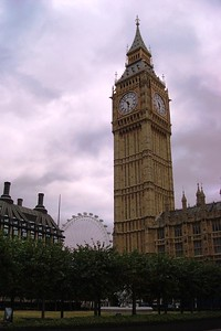 3 - 'Big Ben' Tower and the London Eye - Liz Greenberg