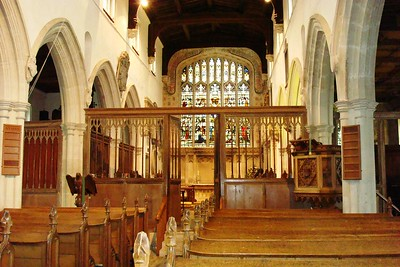 5 - Interior of Ewelme Church - Liz Greenberg