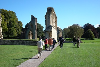 17 - Grounds of the Remains of Glastonbury Abbey, once the second richest abbey in England - Liz Greenberg