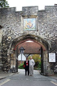 9 - Entrance to Winchester Cathedral Close - Liz Greenberg