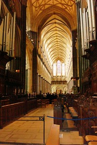 6 - Interior of Salisbury Cathedral - Liz Greenberg