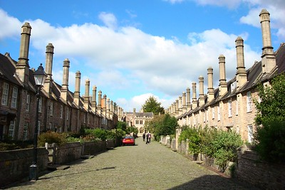21 - Vicars' Close at Wells Cathedral - Liz Greenberg