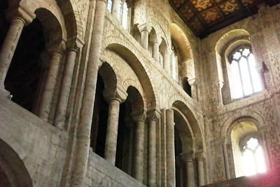 12 - Anglo-Norman Arches in Winchester Cathedral - Liz Greenberg