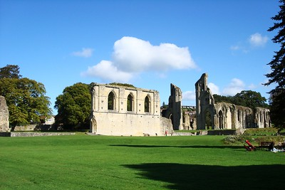 19 - Glastonbury Abbey Grounds - Liz Greenberg