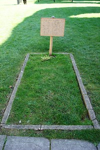 18 - The Alleged Grave of King Arthur at Glastonbury Abbey - Liz Greenberg