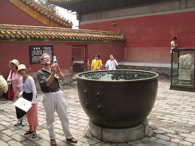 Picture taking in the Forbidden City - Marguerite Vera