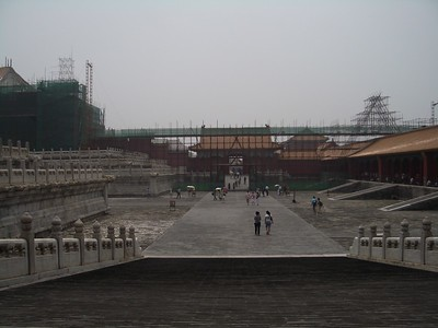 Renovations at the Forbidden City - Marguerite Vera